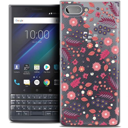 "Extra Slim Crystal Gel BlackBerry Key2 LE (4.5"") Case Spring Printemps"
