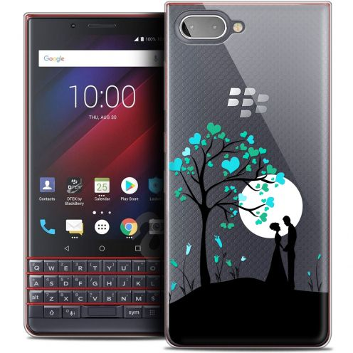 "Extra Slim Crystal Gel BlackBerry Key2 LE (4.5"") Case Love Sous l'arbre"