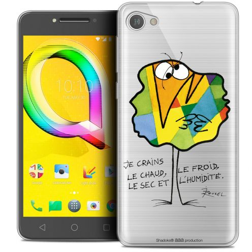 "Extra Slim Crystal Gel Alcatel A5 LED (5.2"") Case Les Shadoks® Chaud ou Froid"