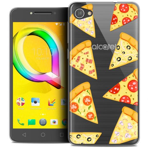"Extra Slim Crystal Gel Alcatel A5 LED (5.2"") Case Foodie Pizza"