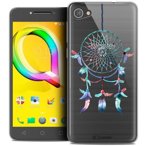 "Extra Slim Crystal Gel Alcatel A5 LED (5.2"") Case Dreamy Attrape Rêves Rainbow"