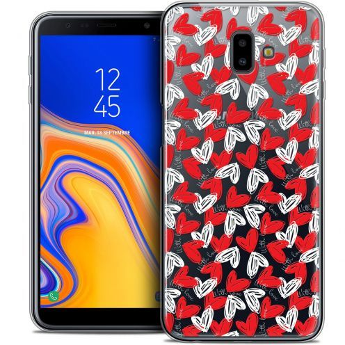 "Extra Slim Crystal Gel Samsung Galaxy J6 Plus J6+ (6.4"") Case Love With Love"
