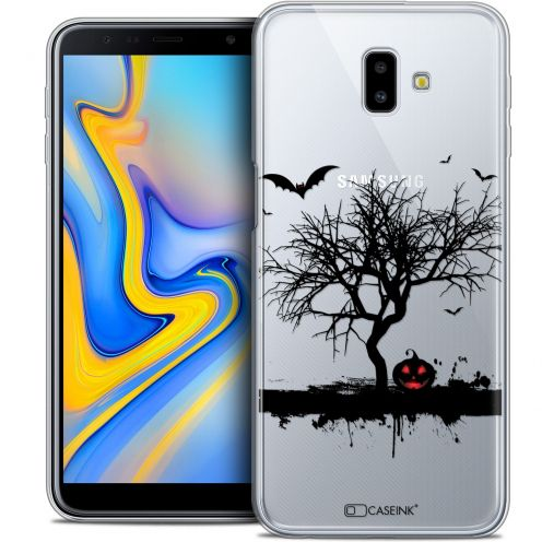 "Extra Slim Crystal Gel Samsung Galaxy J6 Plus J6+ (6.4"") Case Halloween Devil's Tree"