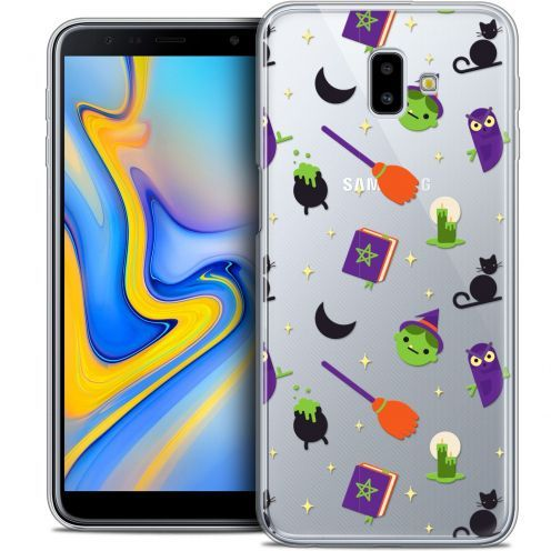 "Extra Slim Crystal Gel Samsung Galaxy J6 Plus J6+ (6.4"") Case Halloween Witch Potter"