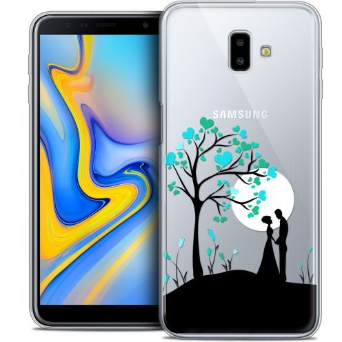 "Extra Slim Crystal Gel Samsung Galaxy J6 Plus J6+ (6.4"") Case Love Sous l'arbre"