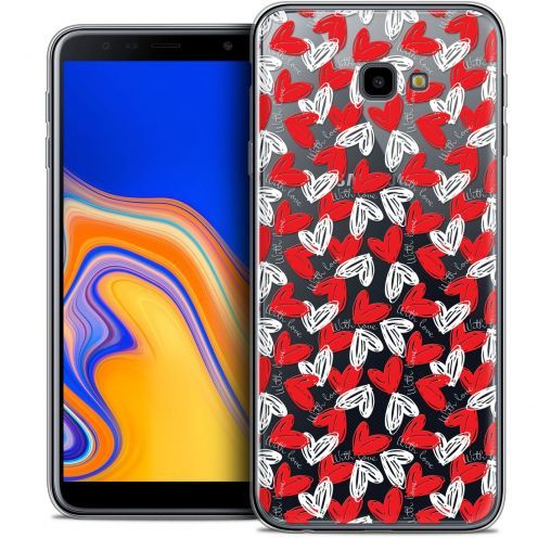 "Extra Slim Crystal Gel Samsung Galaxy J4 Plus J4+ (6"") Case Love With Love"