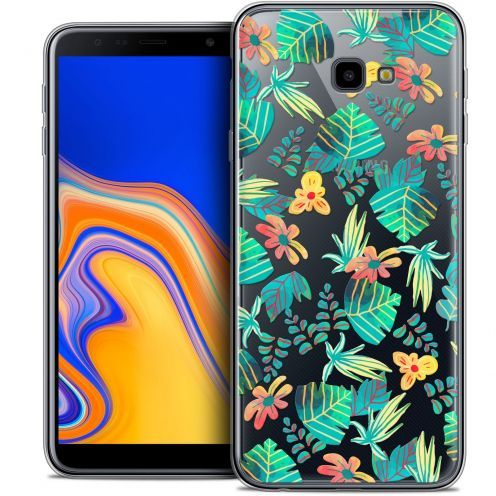 "Extra Slim Crystal Gel Samsung Galaxy J4 Plus J4+ (6"") Case Spring Tropical"