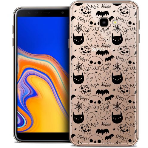 "Extra Slim Crystal Gel Samsung Galaxy J4 Plus J4+ (6"") Case Halloween Spooky"