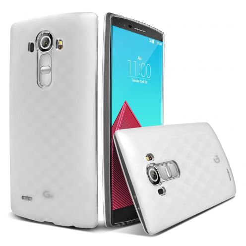 Frozen Ice Extra Slim soft white case for LG G4