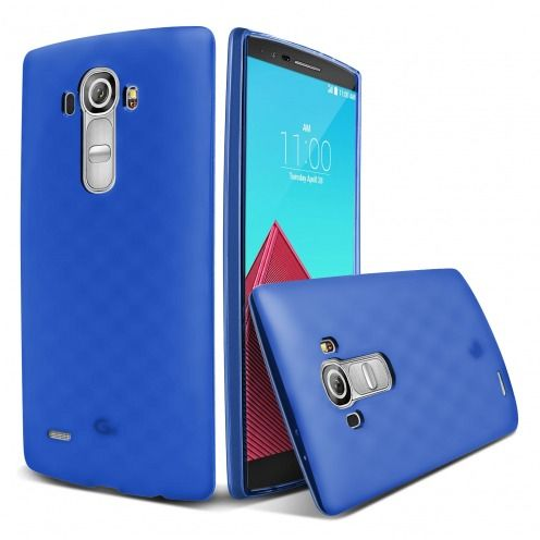Frozen Ice Extra Slim soft Ultramarine Blue case for LG G4