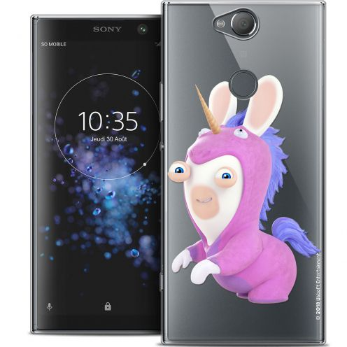 "Crystal Gel Sony Xperia XA2 PLUS (6"") Case Lapins Crétins™ Licorne"