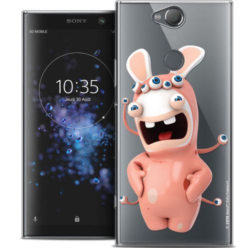 "Crystal Gel Sony Xperia XA2 PLUS (6"") Case Lapins Crétins™ Extraterrestre"