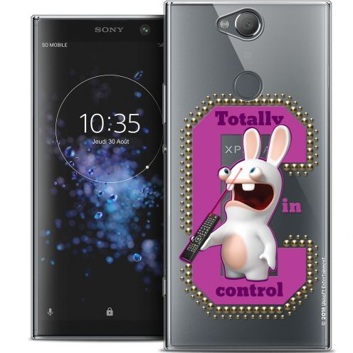 "Crystal Gel Sony Xperia XA2 PLUS (6"") Case Lapins Crétins™ In Control !"