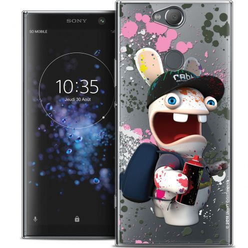 "Crystal Gel Sony Xperia XA2 PLUS (6"") Case Lapins Crétins™ Painter"