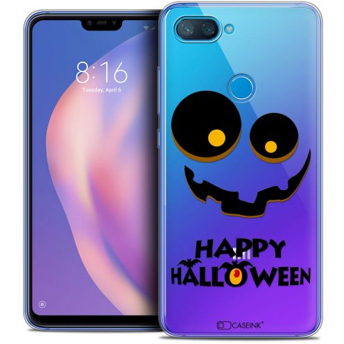 "Extra Slim Crystal Gel Xiaomi Mi 8 LITE (6.26"") Case Halloween Happy"