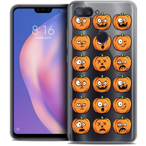 "Extra Slim Crystal Gel Xiaomi Mi 8 LITE (6.26"") Case Halloween Cartoon Citrouille"