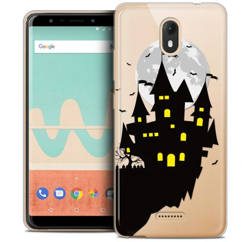 "Extra Slim Crystal Gel Wiko View GO (5.7"") Case Halloween Castle Dream"