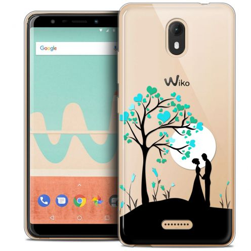 "Extra Slim Crystal Gel Wiko View GO (5.7"") Case Love Sous l'arbre"