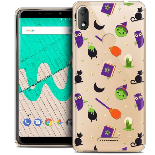 "Extra Slim Crystal Gel Wiko View MAX (5.7"") Case Halloween Witch Potter"