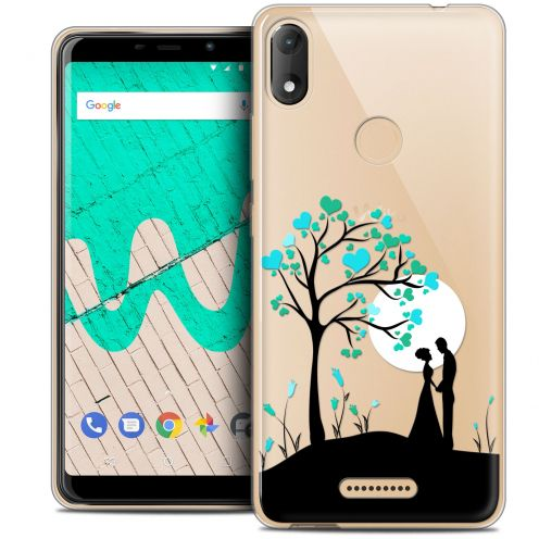 "Extra Slim Crystal Gel Wiko View MAX (5.7"") Case Love Sous l'arbre"