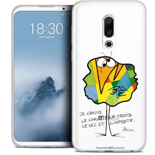 "Extra Slim Crystal Gel Meizu 16 (6"") Case Les Shadoks® Chaud ou Froid"