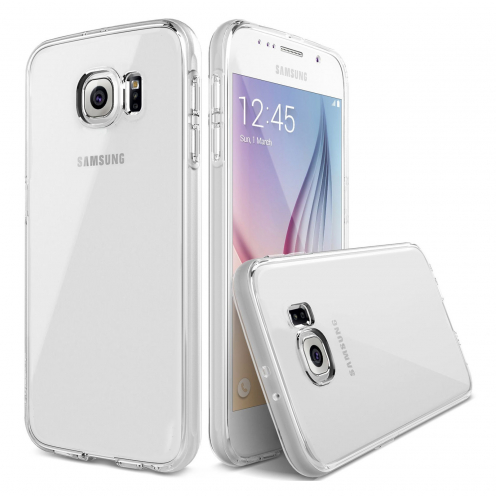 """Crystal Clear"" flexible case for Samsung Galaxy S6"
