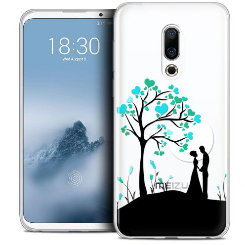 "Extra Slim Crystal Gel Meizu 16 (6"") Case Love Sous l'arbre"