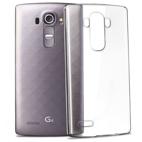Slim Crystal Clear Hard Case for LG G4