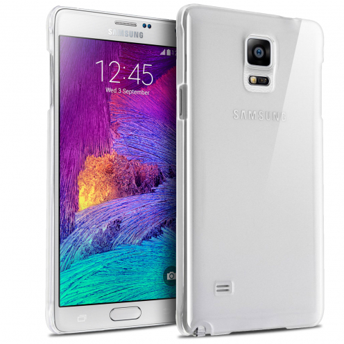 Slim Crystal Clear Hard Case for Samsung Galaxy Note 4