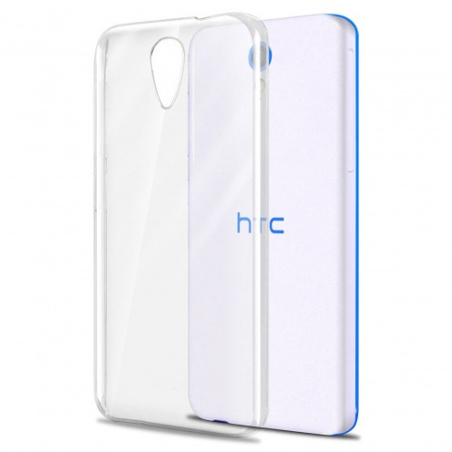 Slim Crystal Clear Hard Case for HTC Desire 620
