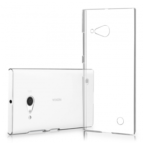 Slim Crystal Clear Hard Case for Nokia Lumia 730/735