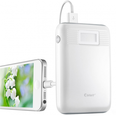 External Battery Cager® B05 PowerBank 2.1A - 2xUSB - LCD - 10000mAh