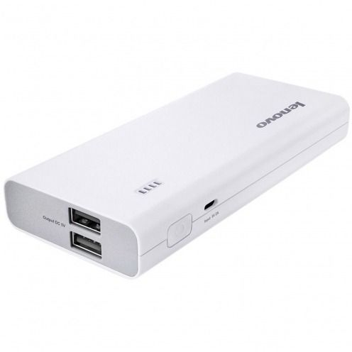 External Battery Lenovo® PA10400 PowerBank 2.1A - 2xUSB - 10400mAh