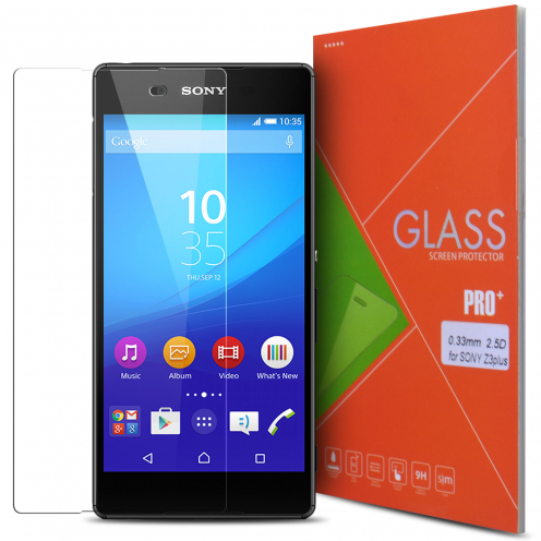 Glass Pro+ Ultra HD 9H 0.33mm Tempered Glass Screen Protector for Sony Xperia Z3+ / Plus