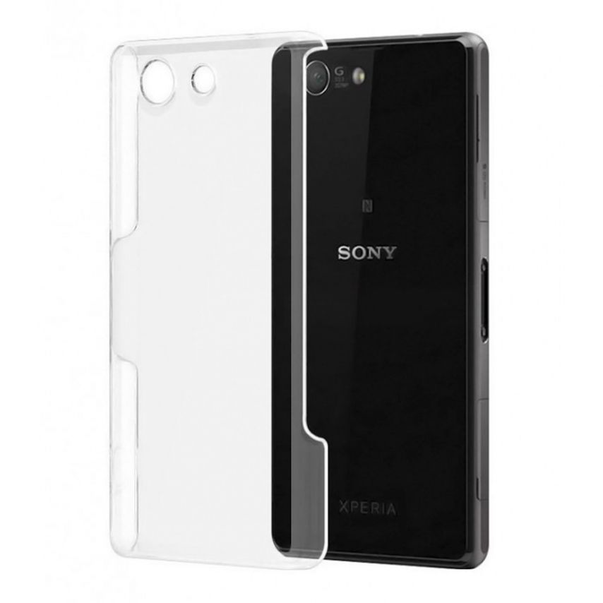 Slim Crystal Clear Hard Case for Sony Xperia Z3 Compact