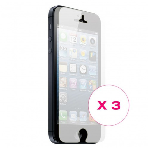 Clubcase ® Mirror HQ screen protector for iPhone 5 3-Pack
