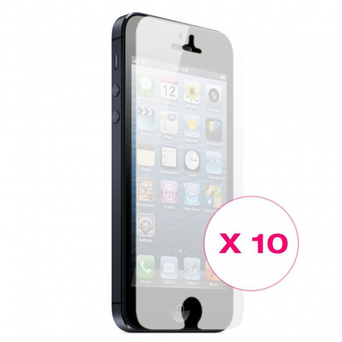Clubcase ® Mirror HQ screen protector for iPhone 5 10-Pack