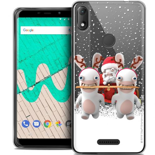 "Crystal Gel Wiko View MAX (6"") Case Lapins Crétins™ Lapin Traineau"