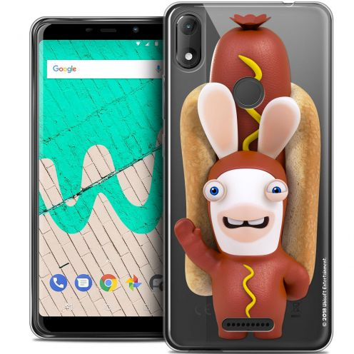 "Crystal Gel Wiko View MAX (6"") Case Lapins Crétins™ Hot Dog Crétin"