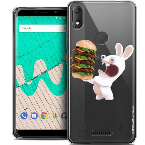 "Crystal Gel Wiko View MAX (6"") Case Lapins Crétins™ Burger Crétin"