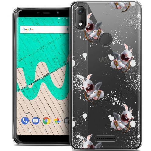 "Crystal Gel Wiko View MAX (6"") Case Lapins Crétins™ Cupidon Pattern"