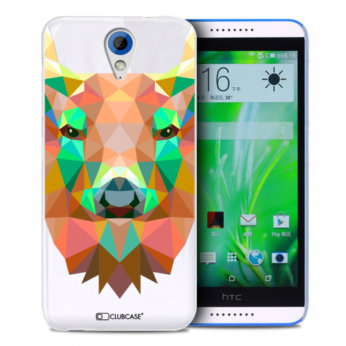 Extra Slim Crystal Desire 620 Case Polygon Animals Deer