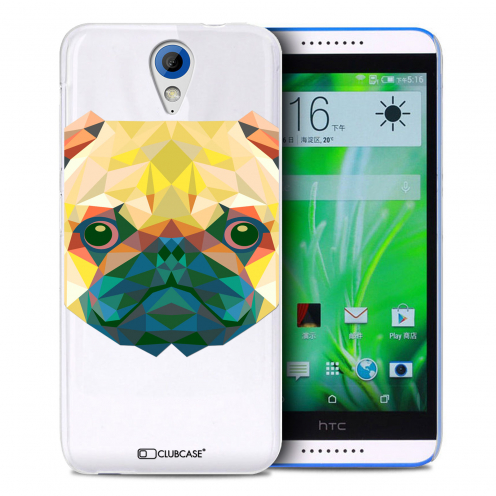Extra Slim Crystal Desire 620 Case Polygon Animals Dog