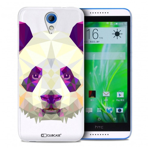 Extra Slim Crystal Desire 620 Case Polygon Animals Panda