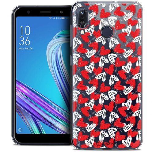 """Extra Slim Crystal Gel Asus Zenfone Max (M1) ZB555KL (5.5"""") Case Love With Love"""