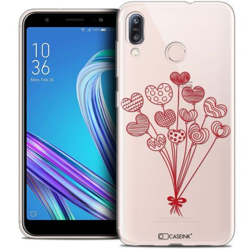 """Extra Slim Crystal Gel Asus Zenfone Max (M1) ZB555KL (5.5"""") Case Love Ballons d'amour"""
