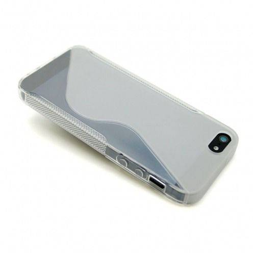 "iPhone 5 SLine TPU ""BASICS"" clear case"