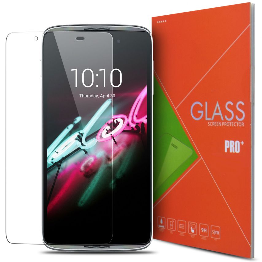Glass Pro+ Ultra HD 9H 0.33mm Tempered Glass Screen Protector for Alcatel Touch Idol 3 (4.7)