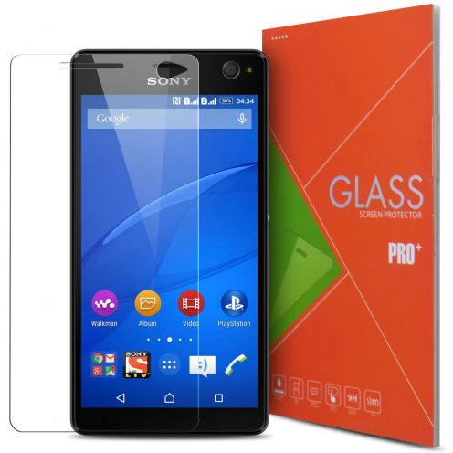 Glass Pro+ Ultra HD 9H 0.33mm Tempered Glass Screen Protector for Sony Xperia C4