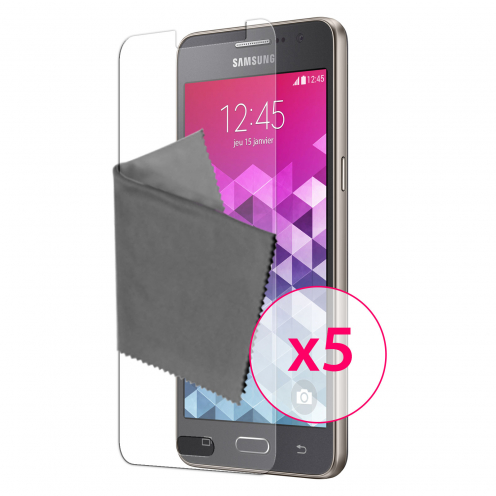 Clubcase ® 3H Ultra Clear HD screen protector for Samsung Galaxy Grand Prime 5-Pack
